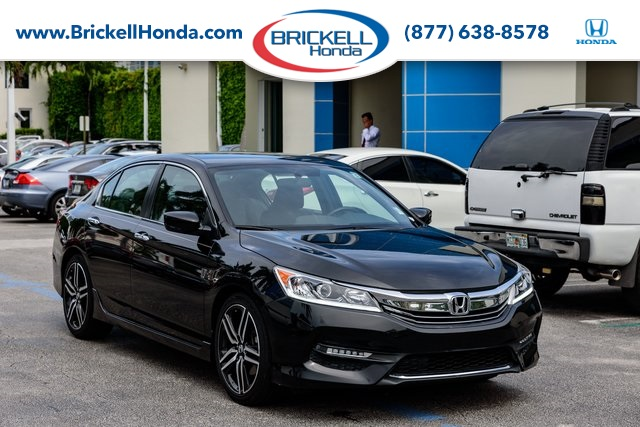 Honda Accord Sport Special Edition >> Pre Owned 2017 Honda Accord Sport Special Edition 4d Sedan In Miami