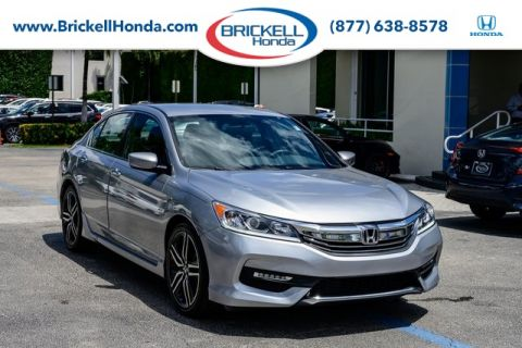 Pre-Owned 2017 Honda Accord Sport