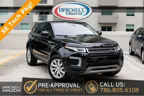 Pre-Owned 2016 Land Rover Range Rover Evoque SE